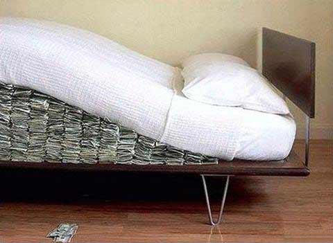 veľa peňazí